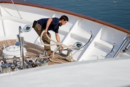 barcelona yacht crew